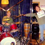 "Another message to my dear friend Katrina Scott-George during the Stay Warm recording sessions.  ""Look, Katrina!  I have a drummer!"""