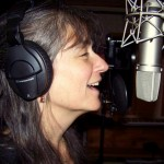 Singing with a smile at 10th Planet Studio, Fairbanks, Alaska.