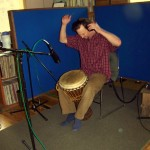 Kliff Hopson paired his energetic djembe groove together with Isaac James on Yula.