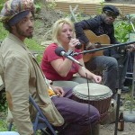 This magical 2004 Whole Wheat Radio interview captured  Borrina singing Yula live in my yard, with Isaac on djembe. I learned this beautiful song from that precious recording.