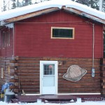 10th Planet Studio, Fairbanks, Alaska, housed in a woodsy log cabin. My last 3 CDs were birthed here.