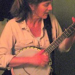 Robin Dale Ford - a grainy but very cool photo.  Robin played banjo on Reasonland, on Esther`s first album Unfinished Houses.